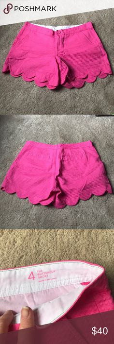 Lilly Pulitzer shorts! These are a pair of pink buttercup Lilly pulitzer shorts! Excellent condition! Lilly Pulitzer Shorts