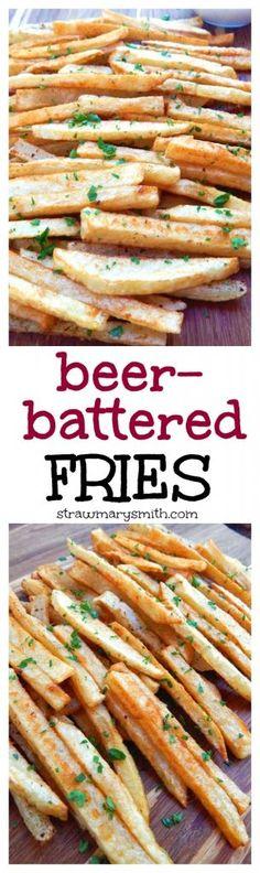 beer battered fries beer battered fries are crispy on the outside ...