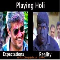 Best funny Holi messages and pictures - WhatsApp Text | Jokes | SMS | Hindi | Indian