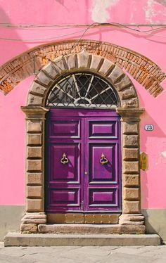 Tuscany, Italy / view beautiful custom door hardware handcrafted by master artisans > https://balticacustomhardware.com/customdoorhardware/backplate-sets.html