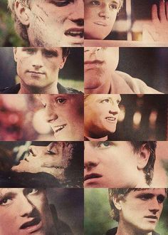Peeta Mellark- it's official. I'm in love with you. again.