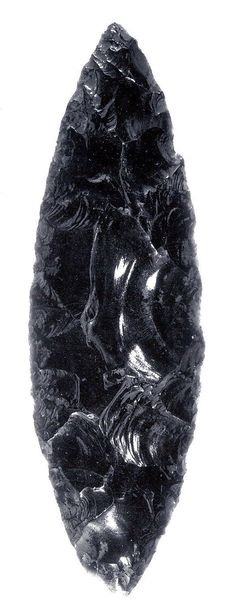 obsidian volcanic glass