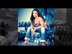 Oksana Grishina Modeling for Iron Man Magazine