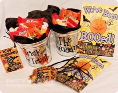 "Spread some ""BOO""s and Halloween spirit. Boo Poem & Instructions"