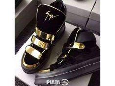 Vestimentatie, Incaltaminte, Ghete/Snekears Giuseppe Zannoti, imaginea 1 din 3 Giuseppe Zanotti Sneakers, All Things Beauty, Fashion Beauty, Exclusive Shoes, Boutique, Sandals, Luxury, Beauty Hacks, Shopping