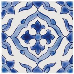 Jerez - Blue & purple - Shop by colour - Wall & Floor Tiles | Fired Earth