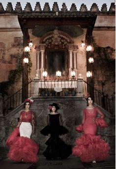 Moda Flamenca por Elena Rivera en Mamá de Mayor Quiero Ser Flamenca.