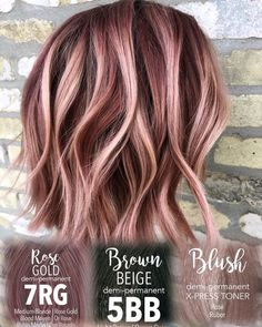 Women Hairstyles Easy Get the look . Strawberries and cream balayage . How I created this look. off with a level 9 canvas Hairstyles Easy Get the look . Strawberries and cream balayage . How I created this look. off with a level 9 canvas Ashy Blonde Balayage, Hair Color Balayage, How To Balayage, Rose Gold Balayage Brunettes, Fall Balayage, Balyage Hair, Short Balayage, Auburn Balayage, Bayalage