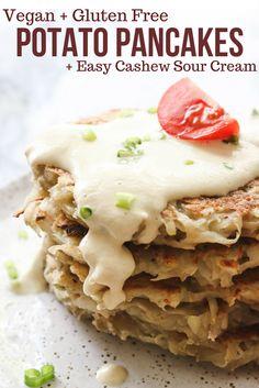 Easy Potato Pancakes (Vegan & Gluten Free!) - From My Bowl