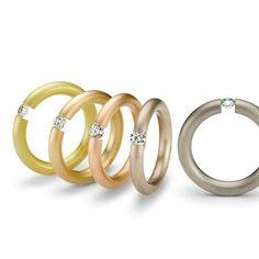 Niessing tension ring in 5 colors