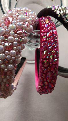Jewelry Logo, Hair Jewelry, Beaded Jewelry, Thread Jewellery, Headband Styles, Diy Headband, Rhinestone Headband, Silk Bangles, Jeweled Headband