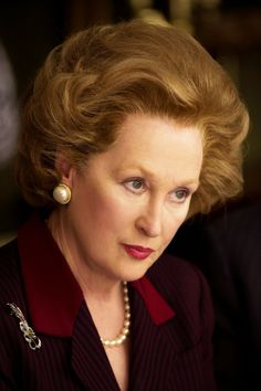 'The Iron Lady' (2011) Directed by Phyllida Lloyd. Margaret Thatcher (Meryl Streep). Academy Awards, USA 2012 Best Performance by an Actress in a Leading Role, Meryl Streep.  Best Achievement in Makeup, Mark Coulier & J. Roy Helland.