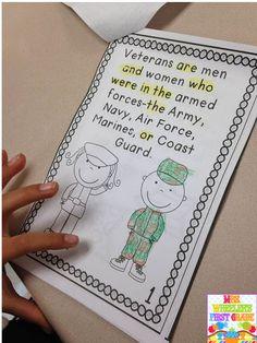 Veterans Day: 1st grade