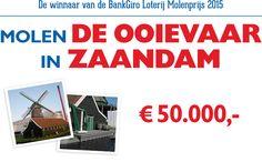 Molen De Ooiervaar in Zaandam