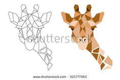 Картинки по запросу polygon animal