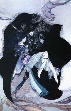Yoshitaka Amano is my most favorite Japanese anime artist.