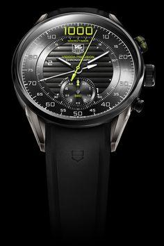 La Cote des Montres : TAG Heuer Mikrotimer Flying 1000 Concept Chronograph - Un pas de géant en précision mécanique - 1/1000e de seconde - 3,6 millions d'alternances par heure !