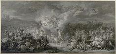 Jacques-Louis David, Die Kämpfe des Diomedes, 1776 © Albertina, Wien