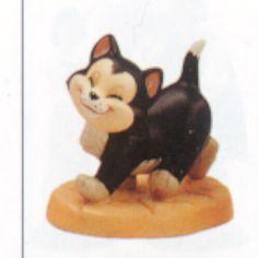 Disney's WDCC Figaro Cat from Pinocchio. Rare Figurine.