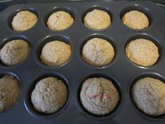 Whole wheat corn muffins with nutritional information & substitutes