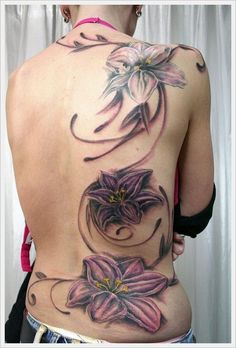 Lower Back Tribal Tattoos Design: Flowers Tribal Back Tattoos Designs For Women ~ Tattoo Design Inspiration