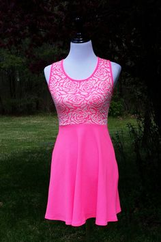 Pretty in Pink Skater Dress