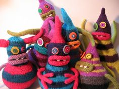 Erin Makes Monsters – They're Knitted!