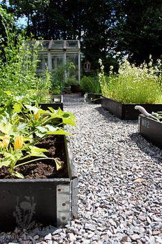 Voikukkapelto Raised Garden Beds, Raised Beds, Garden Cottage, Vegetable Garden, Yard, Vegetables, Plants, Outdoors, Gardening
