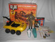 1970 Hasbro Gi Joe Secret of The Mummy's Tomb Playset in Original Box Vintage Toys 1960s, 1970s Toys, Vintage Games, Retro Toys, Gi Joe, Childhood Toys, Childhood Memories, Old School Toys, Fantasy Comics