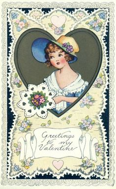 Vintage Valentine's Day Images | Public Domain | Condition Free