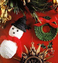 Décorations de Noël et ses grilles gratuites , au crochet ! - Le blog de Anne