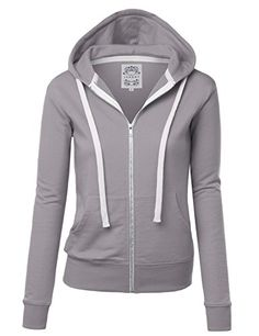 As easy as 1 2 3 this fleece zip-up hoodie features patch front pockets and long sleeves patch details. Layer this piece over for a day of lounging or throw this on for a night by the fire....