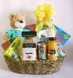 Diy get well soon gift basket for friends and family who are sick the ultimate get well soon gift basket solutioingenieria Gallery