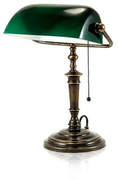 Nothing beats Banker's Lamps. As far as lamps go.