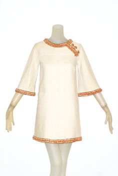 The Icon: A Fine and Extraordinary Spring Summer 1967 Valentino Haute Couture Dress