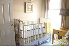 nursery/guestroom...baby bed