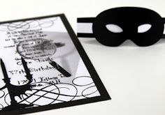 DIY Murder Mystery Party invites