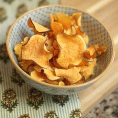 Sweet potato chips quicker....