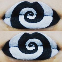 You don't even need to wear a costume with these Halloween lip art looks. It will make you wish that you could rock Halloween lip art the other 30 days of October. Fair Skin Makeup, Lipstick For Fair Skin, Lipstick Art, Eye Makeup Art, Lipstick Colors, Lip Makeup, Lip Colors, Lipsticks, Lipstick Dupes