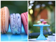 French Macaroons/ colorful macaroons/ girls garden party/ Canon 100mm macro lens