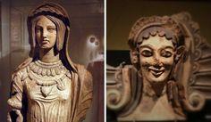 Etruskische vrouwen, 4de - 3de eeuw v. C.  In tegenstelling tot Griekse vrouwen waren de Etruskische intellectueel ontwikkeld (lezen). Ze namen actief deel aan het openbare leven, hadden veel bewegingsvrijheid en de moeders werden ook vereerd. Toch moeten we hun positie niet overdrijven. De Etruskische vrouw was nog geen modern 'geëmancipeerde' vrouw. Daarvoor was hun actieve rol in het openbare leven te beperkt. Hun belangrijkste taak bestond nog uit weven, spinnen en voor de kinderen…