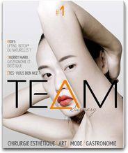 TEAM Surgery n°1 - Magazine numérique sur la chirurgie esthétique, l'art, la mode et la gastronomie