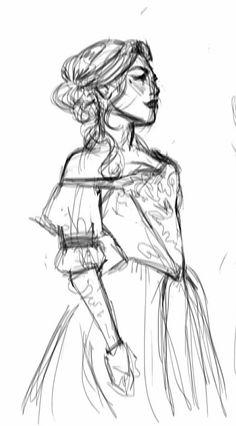 5—10 minute Lysandra sketch If you want to vote for my entry in the Litograph contest, my one is here.