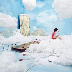 Trasformare senza Photoshop? Una stanza piccolissima si apre a spettacolari mondi incantati tra sogno e colore #ironic