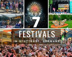Our Germany correspondent, Adi, shares her top 7 festivals in the Stuttgart area, for your fix of German tradition, food, and fun, all year round.