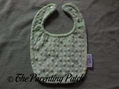 Bebe Bella Designs Minky Chenille Bib Review | Parenting Patch