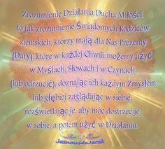 Zrozumienie Ducha Miłości  www.jasnowidzjacek.blogspot.com
