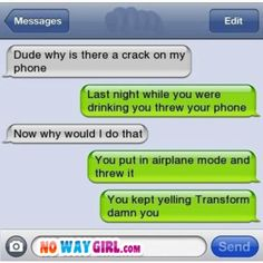 Funny Texts - Page 7 of 32 - NoWayGirl