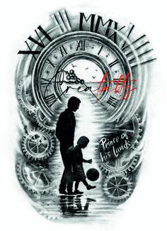 Tattoos Discover Girl Rib Tattoos Daddy Tattoos Father Tattoos Family Tattoos Pocket Watch Tattoo Design Clock Tattoo Design Father Daughter Tattoos Tattoos For Daughters Angel Tattoo Designs Family Tattoo Designs, Angel Tattoo Designs, Family Tattoos, Tattoo Sleeve Designs, Tattoo Designs Men, Forarm Tattoos, Best Sleeve Tattoos, Forearm Tattoo Men, Daddy Tattoos