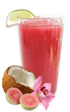 Tropical Guava Mojito Recipe: Guava and Coconut Cocktail
